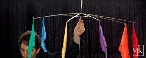 Magischer Regenschirm